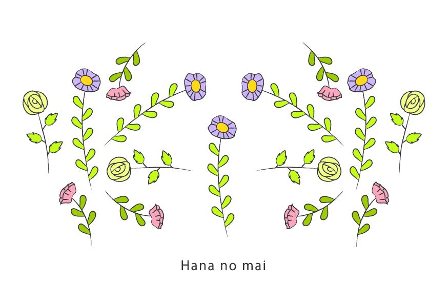 ポストカード(hananomai)