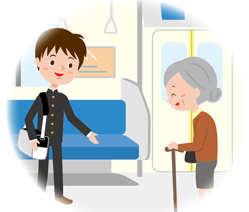 電車内のマナー2